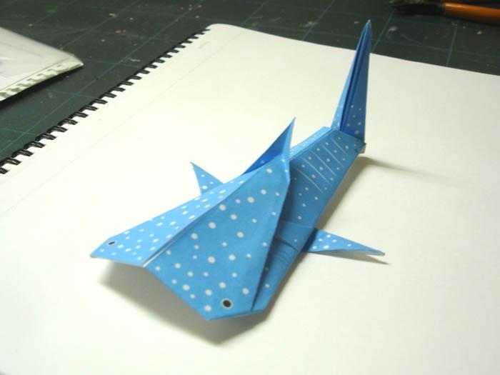 クリスマス 折り紙 魚 折り紙 : hevio.blogspot.com